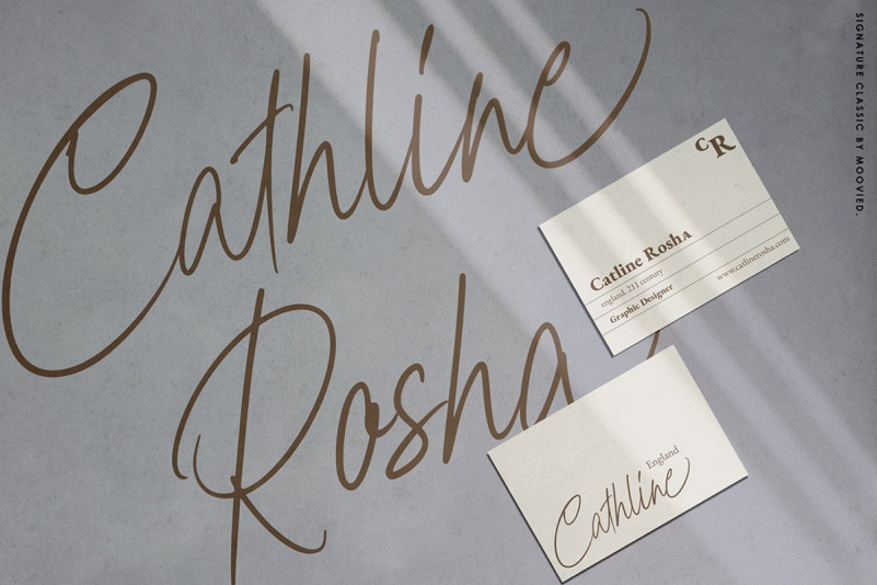 Chairine a classic signature