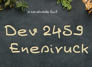 Dev Enesiruck Font