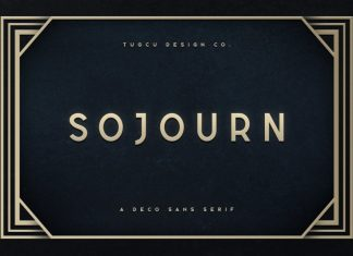 Sojourn Typeface Font