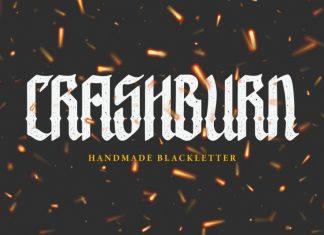 Crashburn | Blackletter Font
