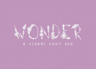 Wonder Floral Font