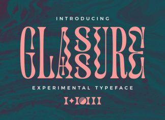 Glassure Typeface version