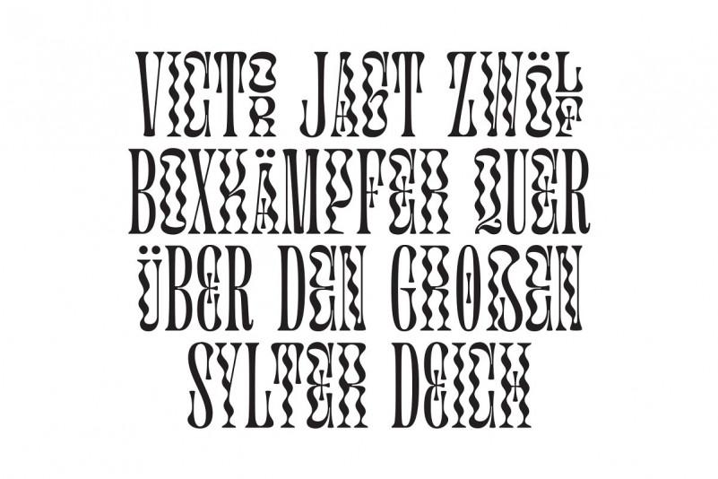 Glassure Typeface version