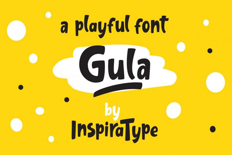 Gula - Playful Font
