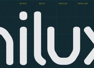 Hilux Font Family