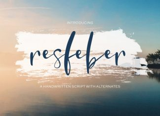 Resfeber Script Font