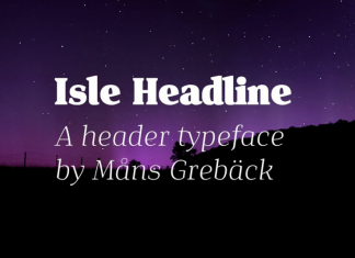 Isle Headline - Eight Styles