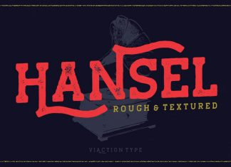 Hansel 50% OFF - Vintage Typeface