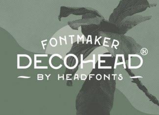 Decohead Typeface Font