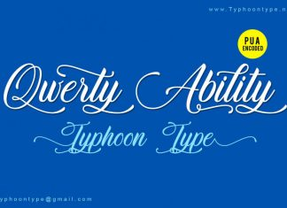 Qwerty Ability font