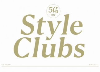 Style Clubs Serif Font
