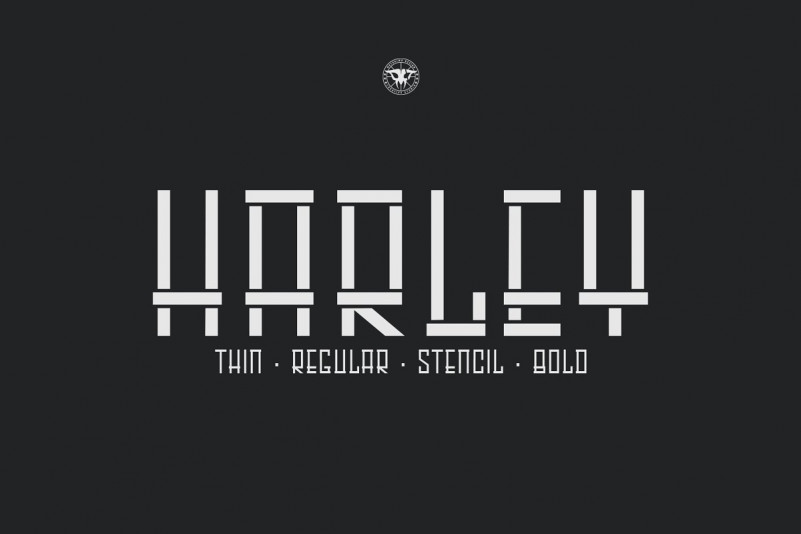 HARLEY - All Caps Sans Font