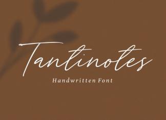 Tantinotes - Handwritten Font