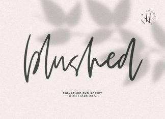 BLUSHED SCRIPT Font