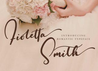 Fioletta Smith Font