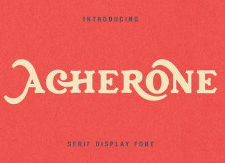 Acherone - Serif Display Font