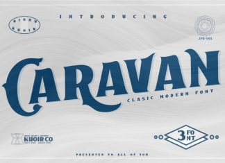 Caravan - Display Font