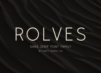 Rolves - Sans Serif Font Family