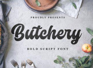 Butchery Font