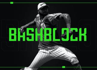 ashBlock Display Font