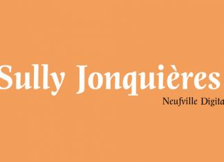Sully Jonquieres ND Font Family
