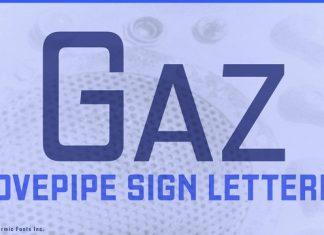 Gaz Font Family