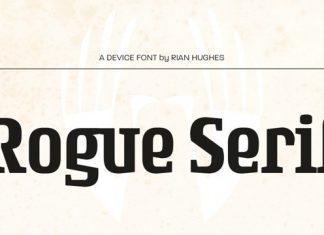 Rogue Serif Font Family
