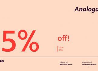 Analoga Sans Font Family