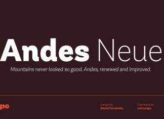 Andes Neue Font Family
