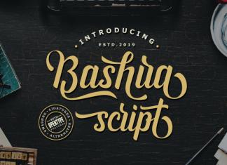 BashiraScript Font