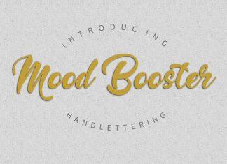 Mood Booster FontScript Font
