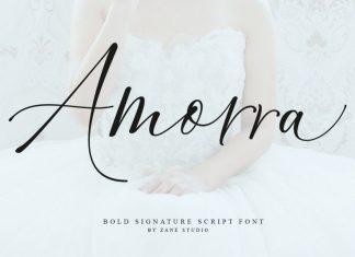 Amorra Script Font