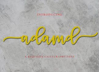 Adamd Font