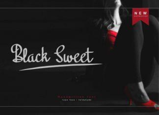 Black Sweet Font