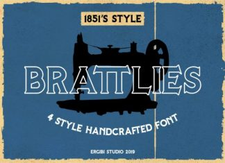 Brattlies Font
