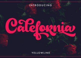 Calefornia Script Font