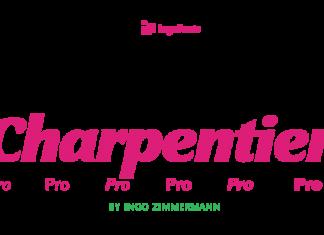 Charpentier Sans Pro Font