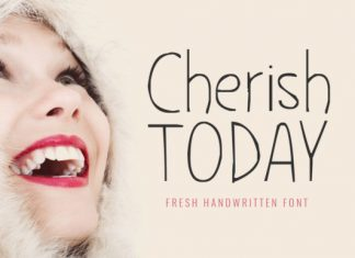 Cherish Today Font