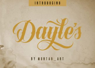 Dayles Font