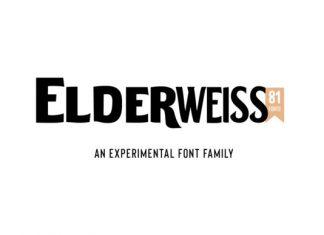 Elderweiss Font