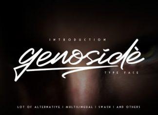 Genoside Font