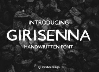 Girisenna Font
