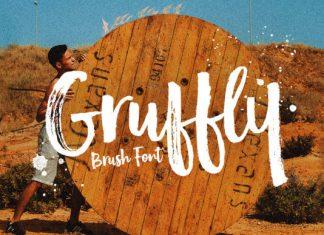 Gruffly font