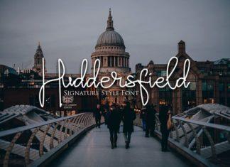 Huddersfield Font