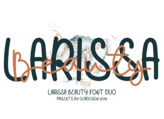 Larissa Beauty Font
