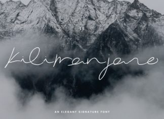 Le Kilimanjaro Font