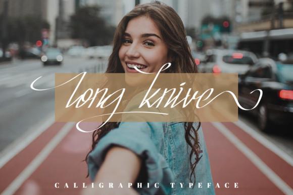 Long Knive font