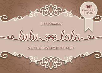 Lulu-Lala font