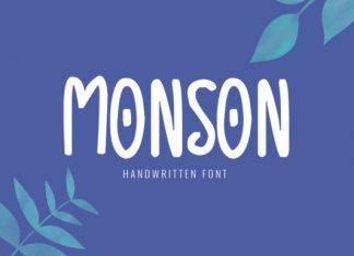 Monson Font