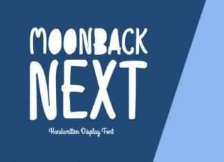 Moonback Next Font